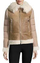 Moncler Kilia Giubbotto Shearling Jacket