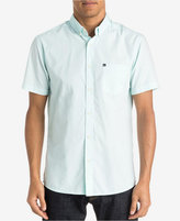 Quiksilver Men's Chambray Button-Down Short-Sleeve Shirt