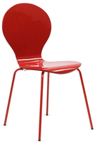 Modway Insect Chair in Glossy Red