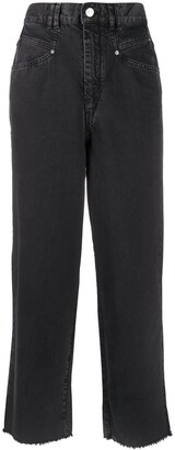 Isabel Marant High Rise Cropped Jeans