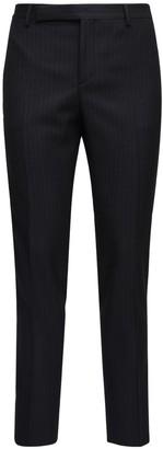 Saint Laurent 15.5cm Pinstripe Wool Pants