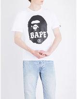 A Bathing Ape Big Ape Logo-print Cotton-jersey T-shirt