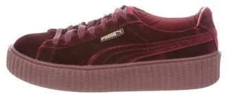 detailed look f95fc 57e1e Velvet Low-Top Sneakers