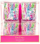 Lilly Pulitzer R) Set of 4 Tumblers