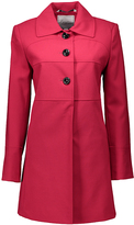Larry Levine Red A-Line Coat