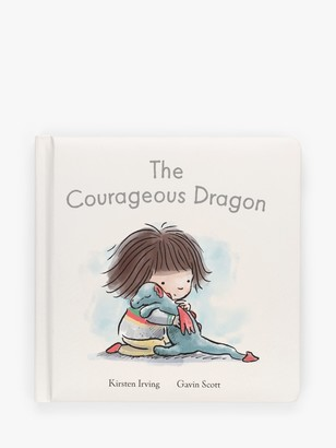 Jellycat The Courageous Dragon Children's Book