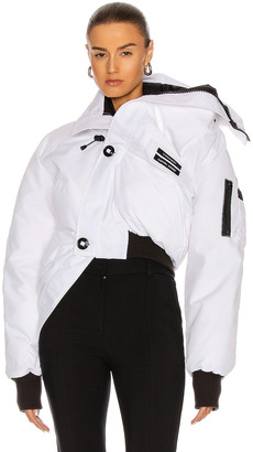 Y/Project x Canada Goose Chilliwack Bomber Jacket in White | FWRD