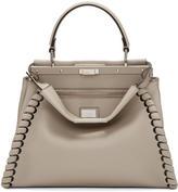 Fendi Grey Regular Peekaboo Bag