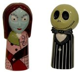 "Disney Neca Nightmare Before Christmas ""Jack and Sally"" Salt and Pepper Set"