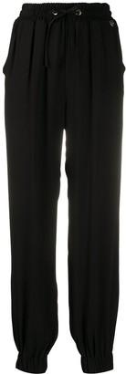 Twin-Set Straight Leg Drawstring Trousers