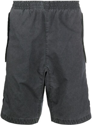 Stone Island Elasticated Cargo Shorts