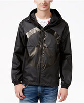 Love Moschino Men's Graphic-Print Hooded Jacket