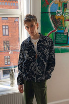 Urban Outfitters Floral Harrington Jacket