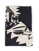 Kenzo Wool And Silk Scarf