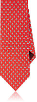 Salvatore Ferragamo Men's Bee-Print Silk Necktie
