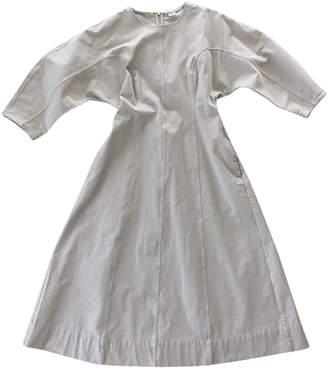 Arket Beige Cotton Dress for Women