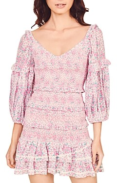 LoveShackFancy Ensley Mini Dress