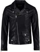 Schott Nyc Enfield Leather Jacket Black