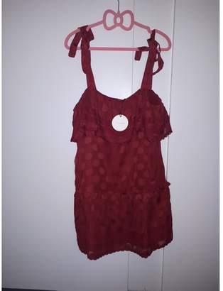 Tularosa Red Dress for Women