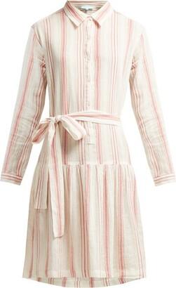 Melissa Odabash Amelia Striped Cotton Dress - Womens - Red Stripe