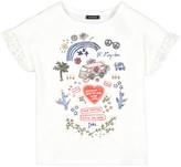 Ikks Junior Cotton/Linen T-Shirt, 4-14 Years