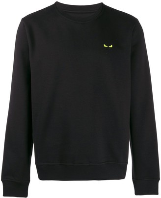 Fendi Bag Bugs motif sweatshirt