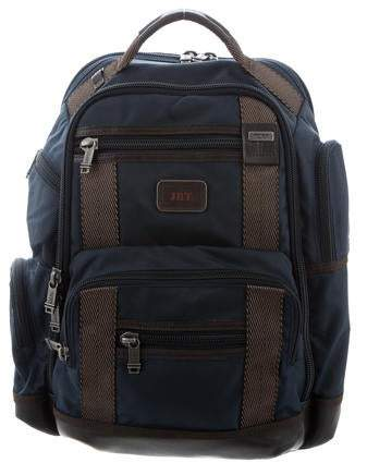 0d5d559dd Mens Canvas Leather Backpack - ShopStyle