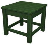 """Polywood CLT1818GR Club 18\"""" Side Table, Green"""