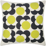 Orla Kiely Bigspot Shadow Flower Cushion 59x59cm - Lemon