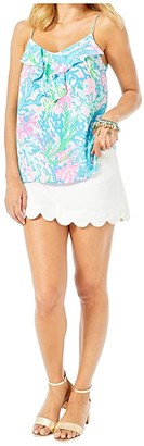 Lilly Pulitzer Karmen Cami (Prosecco Pink Lillys Dot Inverse) Women's Sleeveless