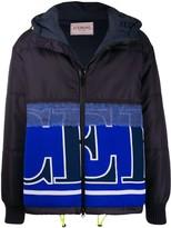 Iceberg panelled logo jacket