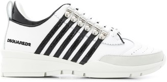 DSQUARED2 Two-Tone Lace-Up Trainers