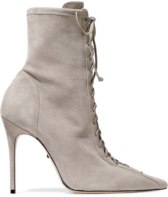 Schutz Tennie Stretch-suede Ankle Boots