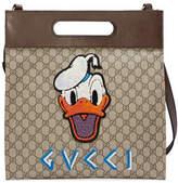 Gucci Soft GG Supreme Donald Duck tote