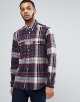 French Connection Flannel Shirt with Double Check Pocket