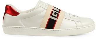 Gucci stripe leather sneaker