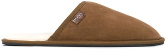 HUGO BOSS Round Toe Slippers