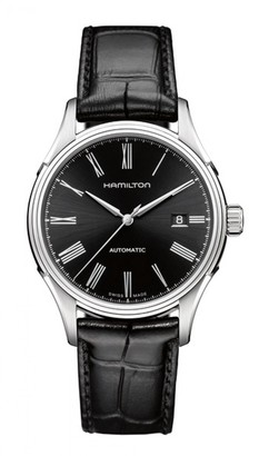 Hamilton Men's Analogue Automatic Watch with Leather Strap H39515734