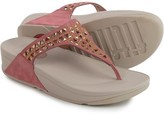 FitFlop Carmel Toe-Post Sandals - Suede (For Women)