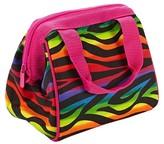 Fit & Fresh Riley Insulated Lunch Bag - Rainbow Zebra