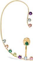 Delfina Delettrez 18-karat Gold, Topaz And Peridot Ear Cuff - one size