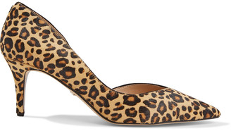 Sam Edelman Jaina Leopard-print Calf Hair Pumps