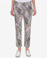 Tommy Hilfiger Paisley-Print Pants, Only at Macy's