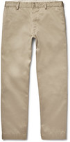 Visvim Pastoral Wide-leg Cotton-twill Chinos