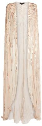 Jenny Packham Embellished Shea Cape