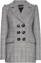 Flow The Label Plaid Wool Blazer