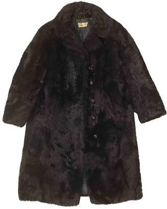 Non Signã© / Unsigned Non SignA / Unsigned Black Shearling Coats