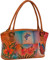 Anuschka ANNA by Wide Tote - Floral Butterfly