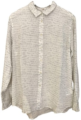 Levi's Made & Crafted Ecru Silk Top for Women