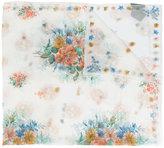 Alexander McQueen floral print scarf - women - Silk - One Size